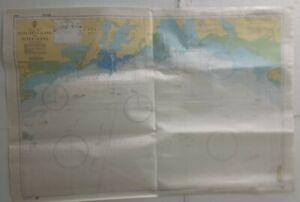 Admiralty 3992 Donging Gang to Beihai Gang Nautical Chart Marine Geographic Map