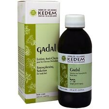 Dead Sea Kedem 100% Organic Anti Hair Loss Solution Scalp For Weak Hair - Gadal