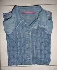 Camicia Jeans NOLITA N.Y.C. Donna Size M Blusa Shirt