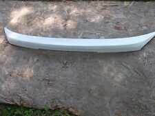 2000-2002 KIA RIO TRUNK LID SPOILER WHITE WITH CHROLE MOULDING