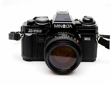 Minolta X-700 Classic Film Camera Near Mint with MD 50mm F/1.4 Lens Excellent!