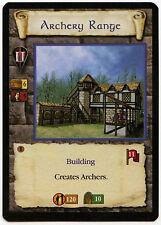 Archery Range (4) - Age Of Empires ECG CCG Card (C96)