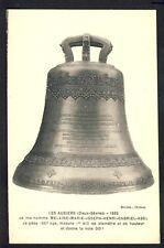 Carte Postale Ancienne RARE 79 - LES AUBIERS Bénédiction Baptème CLOCHE 1932