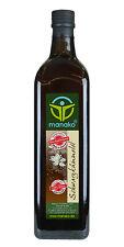 manako Schwarzkümmelöl nativ kaltgepresst GEFILTERT naturbelassen 1 L / 1000 ml