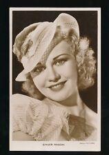 Film Theatre GINGER ROGERS c1920/30s? RP PPC