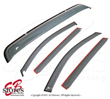 Sun roof /& 2.0mm Visor Wind Guard Out-Channel 5pcs 2005-2007 Ford Five Hundred