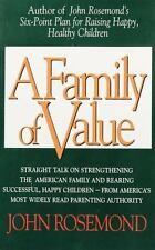 Family of Value by John Rosemond, Good Book