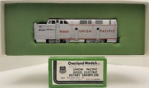 Brass H0 Overland Models UNION PACIFIC DISEL ELECTRIC ROTARY SNOWPLOW #900091