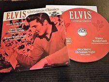 ELVIS PRESLEY RARE  GRACELAND FAN CLUB HOLIDAY CD (2017)