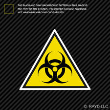 "4"" Biohazard Warning Sticker Decal Self Adhesive Vinyl Danger"