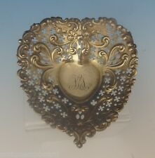 Chantilly by Gorham Sterling Silver Candy Dish Heart-Shaped #4300 (#0324)
