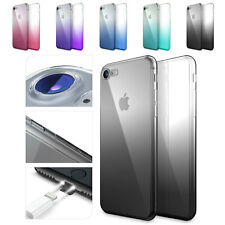 Urcover® TPU Camera Protection Back Case | Ultra Slim Rainbow Silicon Cover