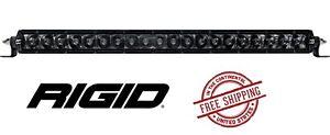 """Rigid Industries SR-Series PRO Midnight Edition 20"""" LED Light Bar - Spot/ Hyper"""