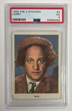 1959 FLEER THREE STOOGES LARRY CARD #3 PSA 3 VG CONDITION & WELL CENTERED