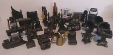 Vintage Lot Of 30 Die Cast Metal Collectible Pencil Sharpeners Figurines RARE