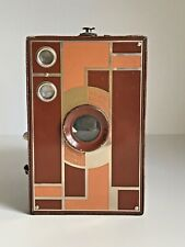 Kodak Brown No 2 Beau Brownie Double Lens Art Deco Box Camera