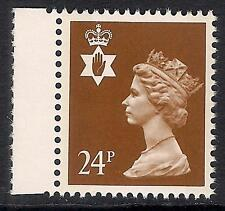 Northern Ireland 1993 NI59 24p litho 2 bands booklet stamp MNH