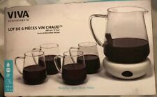 Viva Scandinavia 6pc Mulled Wine Set