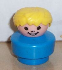 Vintage 90's Fisher Price Chunky Little People Sonny #2372 2365 figure FPLP