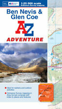 Ben Navis & Glen Coe Adventure Atlas by A-Z Maps (OS Mapping, Paperback)