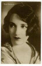 1920's Vintage Movie Star Bebe Daniels antique French photo postcard