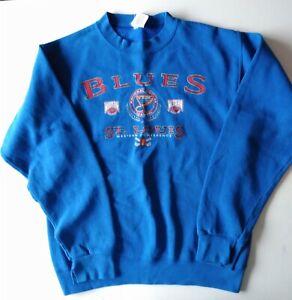 Vintage NHL St Louis Blues Starter Sweatshirt Boys Med 8/10
