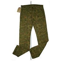 RALPH LAUREN Herren straight gerader schnitt Camouflage Jeans Hose W32 L34 NEU