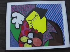 "RARE Romero Britto ""the Théâtre"" original 1990 Nº 84/275 Silkscreen serigraph"