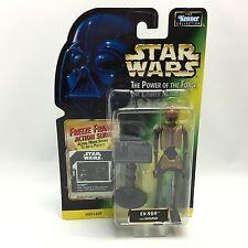 Star Wars POTF2/EV-9D9 Action Figure/Kenner 1997/GREEN Freeze Frame Card MOC NEW