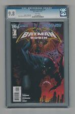 Batman and Robin #1 CGC 9.8 NM/M DC Comics The New 53 11/11