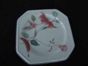 mikasa continental silk flowers   f 3303  entree salad plate