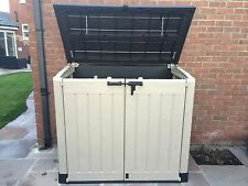 More details for keter store it out max xl plastic garden storage unit shed full 2 year guarantee