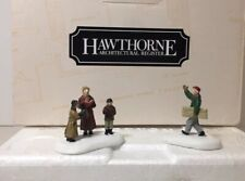 Hawthorne Rockwell Miniatures,N. Rockwell and Carolers #91003, In Box