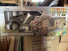 1/6 Dragon Kubelwagen Type 82  Ambulance German WW2 Used Original Box Rare