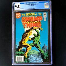 Saga of Swamp Thing #11 (DC 1983) 💥 CGC 9.8 💥 HIGHEST GRADED: 1 of 3! Comic