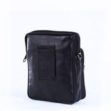 Men's Messenger Shoulder Crossbody Travel Bag Faux Leather Briefcase SO