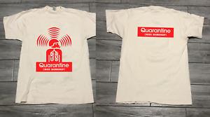 quarantine alien workshop new white shirt