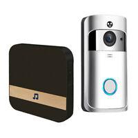 Wireless Video Doorbell Smart Phone Intercom IR Security HD Camera Bell US
