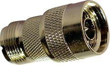 SO239 Socket to N-Type Plug Adaptor  PL259 Female UHF VHF