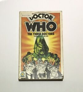 Doctor Who The Three 3 Doctors - Terrance Dicks - Target 1975 1st Edition
