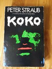 Koko by Peter Straub paperback