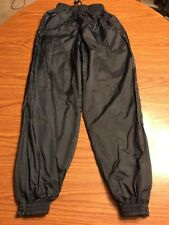 Sport Tek By Port Authority Navy Lined Windbreaker Pants Size Youth L