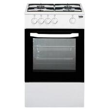 Cucina a gas 50x50 Forno a gas Bianco Beko CSG42001FW