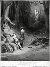 Adamo ed Eva cacciati dal paradiso.2.Milton.Paradiso perduto.+ Passepartout.1881