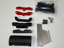 ELECTRIC 1/8 RC BUGGY HPI TROPHY FLUX SUSPENSION ARM HOLDER SET WITH PINS NEW