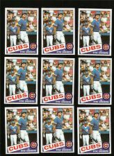 1985 Topps Baseball Card #460 Ryne Sandberg Chicago Cubs Lot (9)