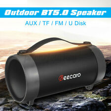Portable Wireless Speaker bluetooth Outdoor Bass With AUX TF Card Slot FM Radio