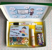 Teacher Hamper Gift Miss,Mrs Thank You Personalised end of year