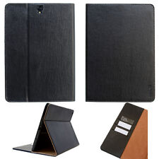 Premium Leather Cover Samsung Tab S2 Protective Case Sleeve Tablet black