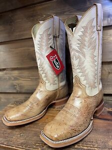 Justin Smooth Ostrich Boot Style JE800